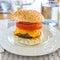 Stock Image : Homemade Hamburgers