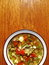 Stock Image : Homemade vegetable soup