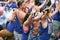 Stock Image :  Homoseksualnej dumy Kanałowa parada Amsterdam 2014