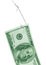 Stock Image : Hooked dollar