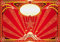 Stock Image : Horizontal red circus background