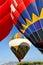 Stock Image : Hot air ballon