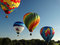 Stock Image : Hot Air Balloons
