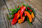Stock Image : Hot peppers