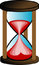 Stock Image : Hourglass illustration