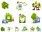 Stock Image : House logo set
