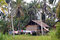 Stock Image : House in village Papua New Guinea