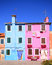 Stock Image : Houses of Burano, Venice lagoon