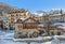 Stock Image : Houses in Limone Piemonte.