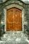 Stock Image : Houten deur