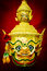 Stock Image : Hua Khon (Ancient Thai Show Mask)