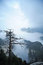 Stock Image : Huashan mountain  in the morning