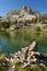 Stock Image : Hurd Peak And Long Lake