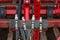 Stock Image : Hydraulic couplings