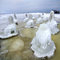 Stock Image : Ice desert.Baltic Sea coast in winter.Lithuania