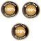 Stock Image : Iconos de la garantía del 100%
