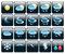 Stock Image : Icons Weather