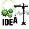 Stock Image : Idea