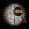 Stock Image : Idea creation concept.