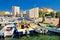 Stock Image : Idyllic town of Razanac waterfront