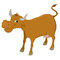 Stock Image : Illustration of a cow