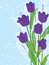 Stock Image : Purple Tulip Flowers_eps