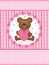Stock Image : Teddy Bear Love Card_eps