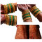 Stock Image : Indian Bridal mehndi