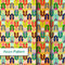 Stock Image : Indian Pattern - Detailed and easily editable