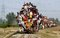 Stock Image : Indian Rail Passengers.