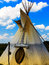 Stock Image : Indian Tepee Tent