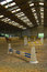 Stock Image : Indoor riding arena