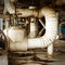 Stock Image : Industrial Zone pipeline