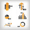 Stock Image : Info Graphic Icons / Elements