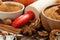 Stock Image : Ingredients for baking apple pie, selective focus, horizontal