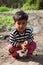 Stock Image : Innocent  indian child