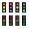 Stock Image : Insieme del semaforo