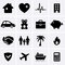 Stock Image : Insurance Icons