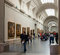 Stock Image : Interior of Prado museum. Madrid