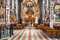 Stock Image : Interior view of famous St. Stephen's Cathedral in Vienna, Austria