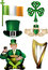 Stock Image : Irish Vector Illustrations