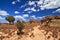 Stock Image : Isalo hike landscape