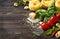 Stock Image : Italian food ingredients.