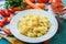 Stock Image : italian food
