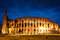 Stock Image : Italy Illuminated Colosseum at night
