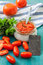 Stock Image : jam tomato