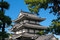 Stock Image : Japanese Castle Roof