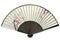 Stock Image : Japanese folding fan.