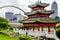 Stock Image : Japanese Pagoda Zen Garden