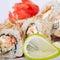 Stock Image : Japanese rolls
